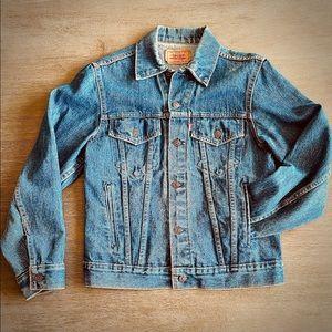 Levi's Jean Denim Jacket Medium Wash Size 38